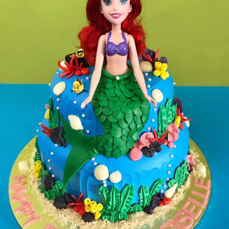 2-tier Little Mermaid