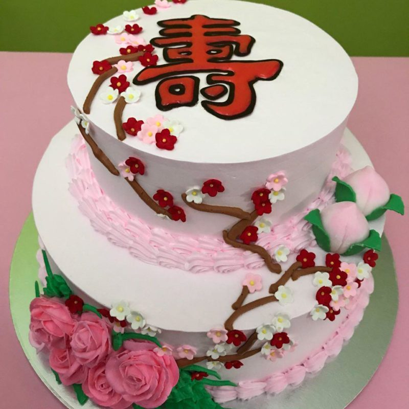 2-tier Longevity Blossom