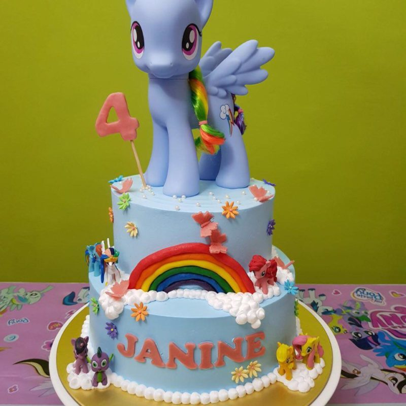 2-tier My Little Pony