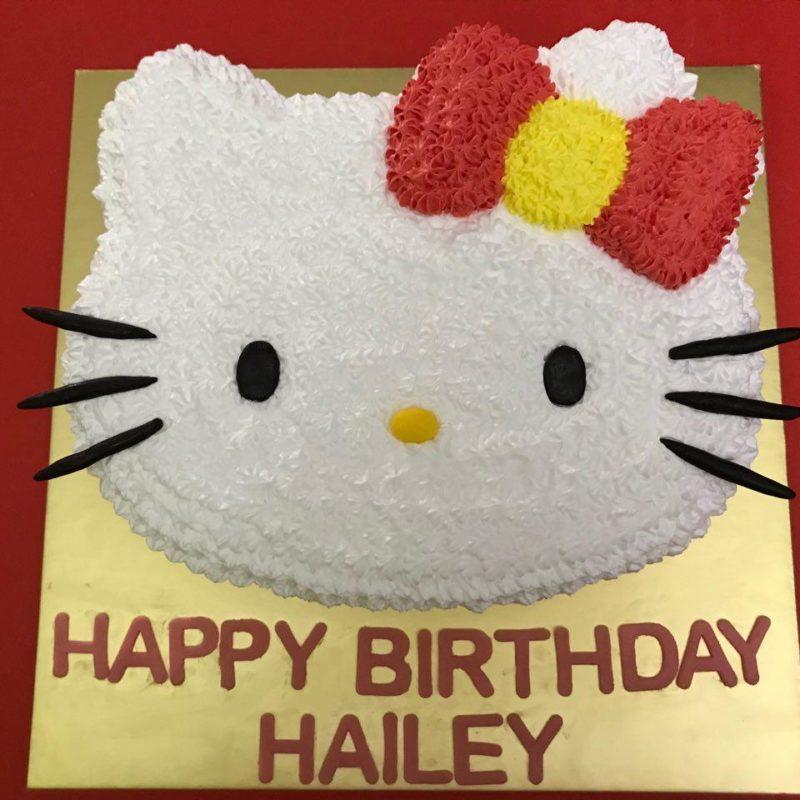 2D Hello Kitty Head