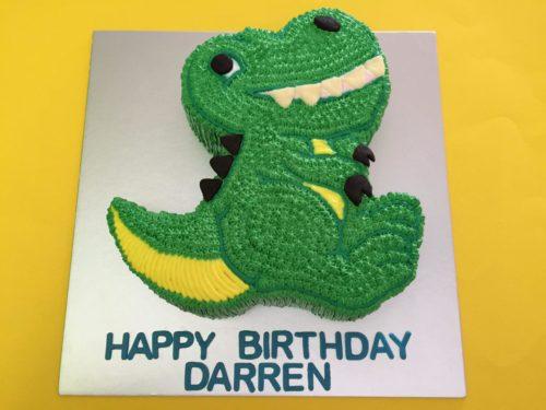 2D Little Green Dinosaur