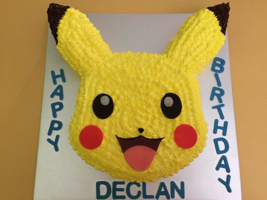 Pikachu Cakes Singapore Favourite Childhood Character