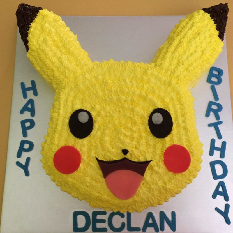 Pokemon Cakes Singapore Favourite Childhood Character
