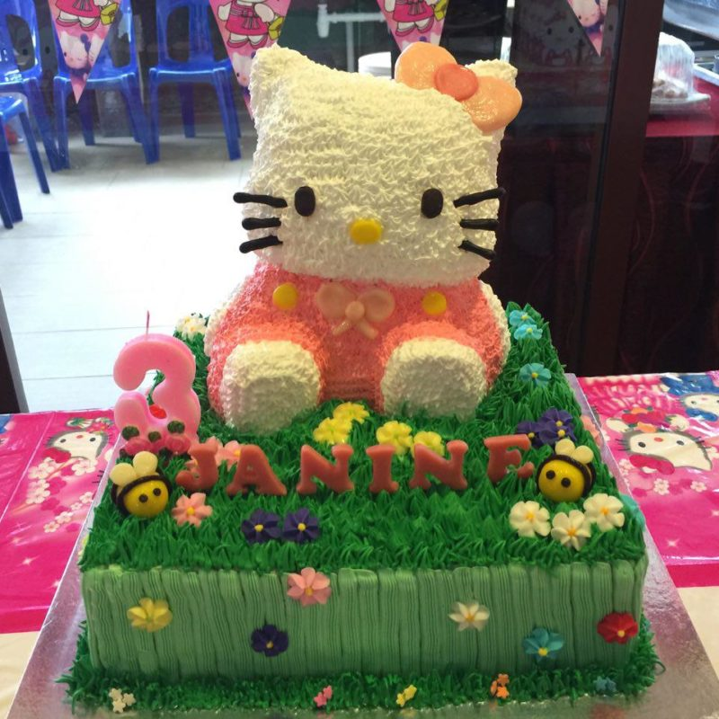 3D Hello Kitty