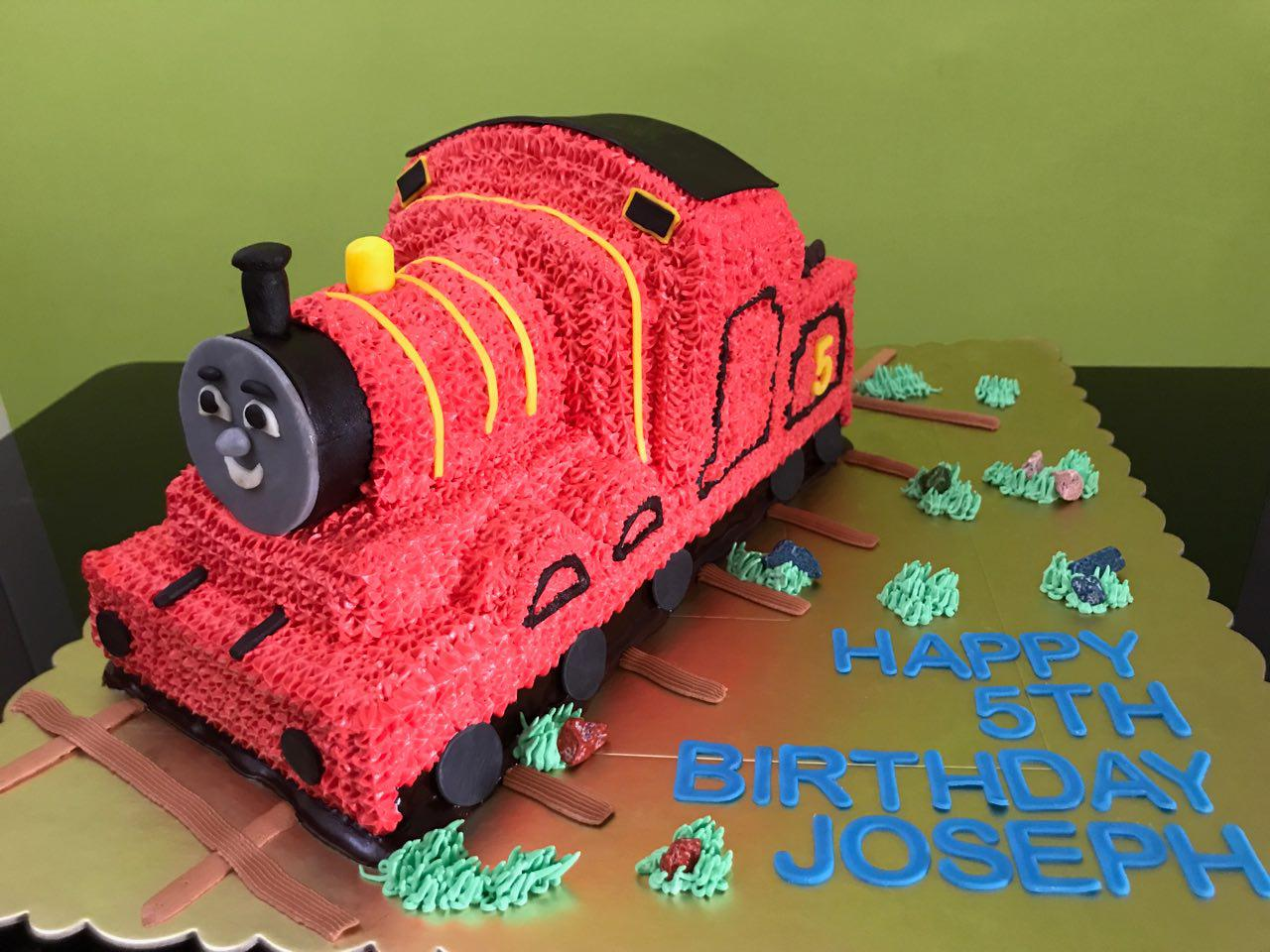 3D James the Red Engine