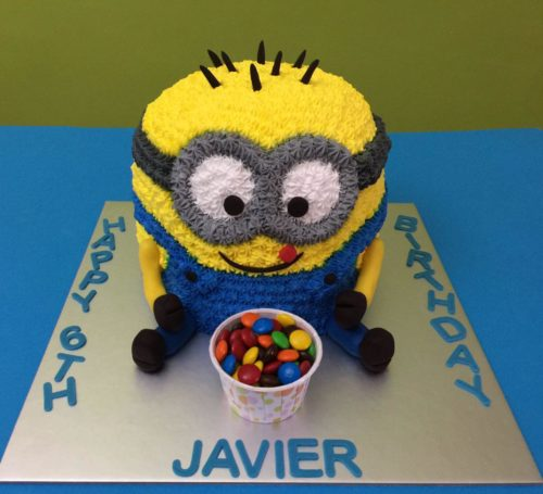 3D Minion with M&M
