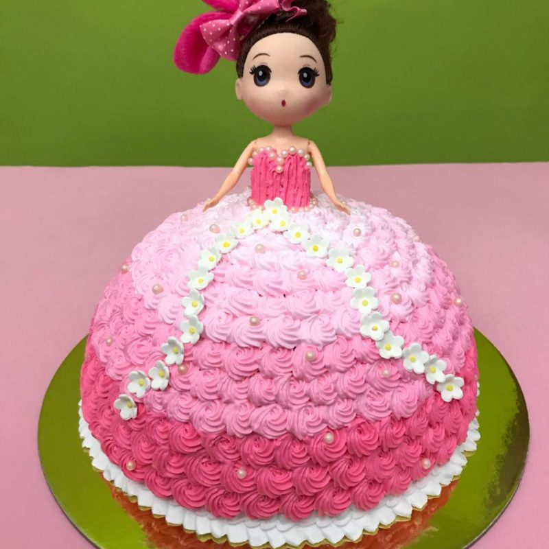Princess Doll Cake Singapore Delight Your Princess