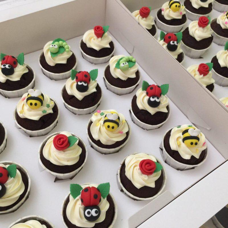 Bugs Cupcakes