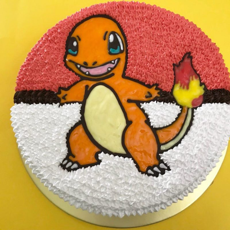 Charmander on Pokeball 1