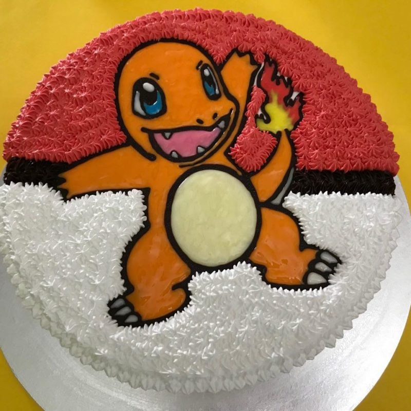 Charmander on Pokeball 2