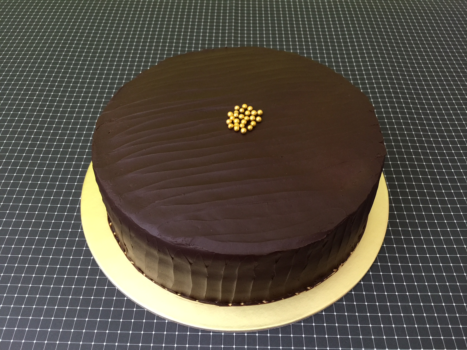 Chocolate Ganache Butter Cake
