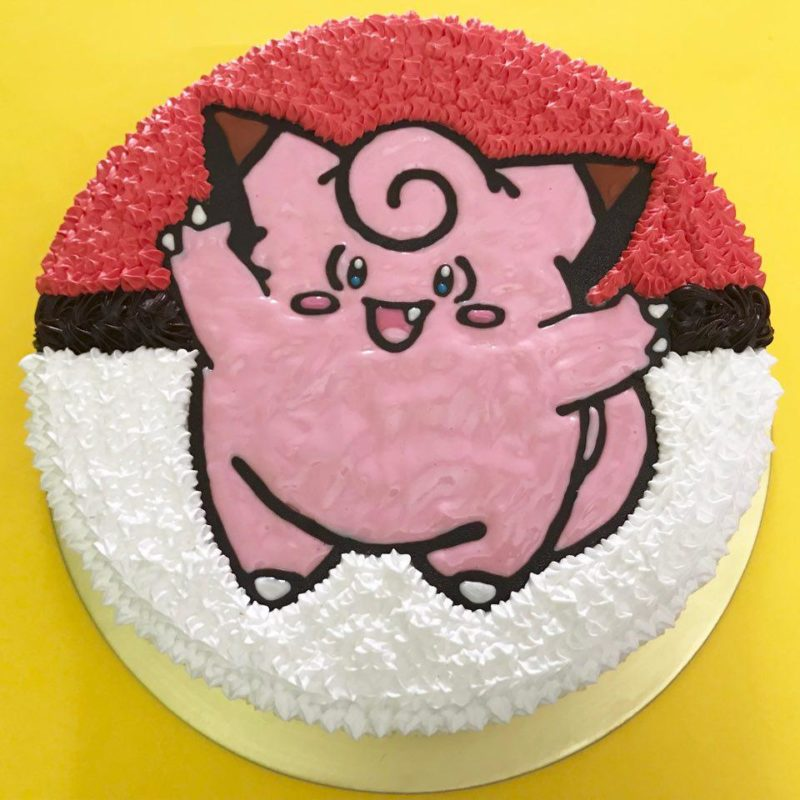 Clefairy on Pokeball