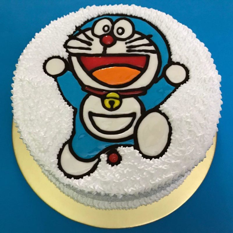 Doraemon Cheerful Round