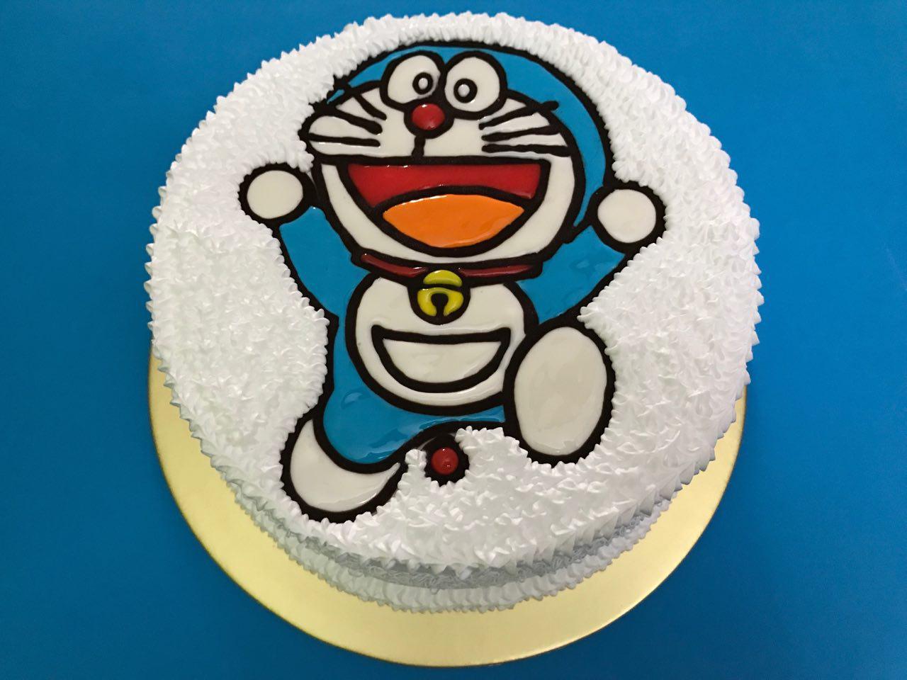 Doraemon Cheerful Round