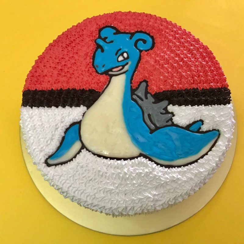 Lapras on Pokeball