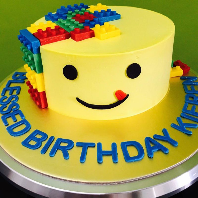 Set Birthday Lego Cake