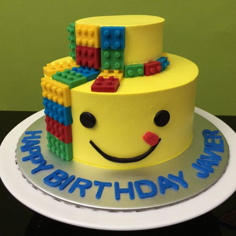 Lego Cakes Singapore | Favourite toy ever on a cake