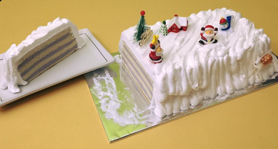 Log Cake - Yam Inside