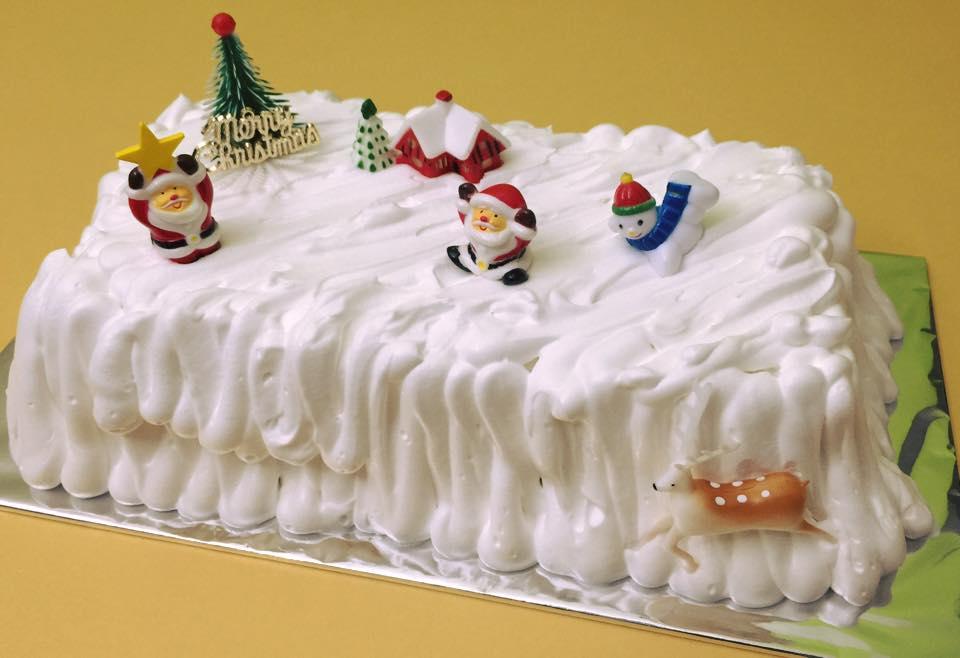 Yam Log Cake