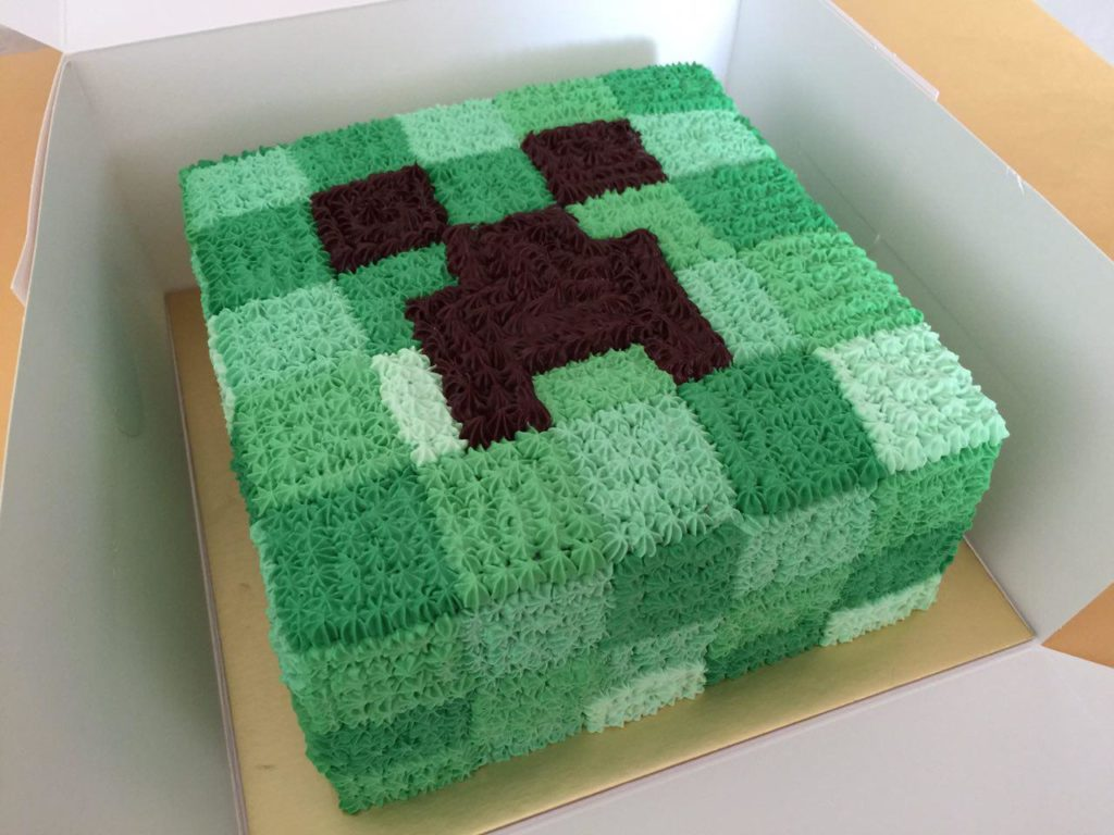 Minecraft Cakes Singapore Imagine Minecraft On Your Cake