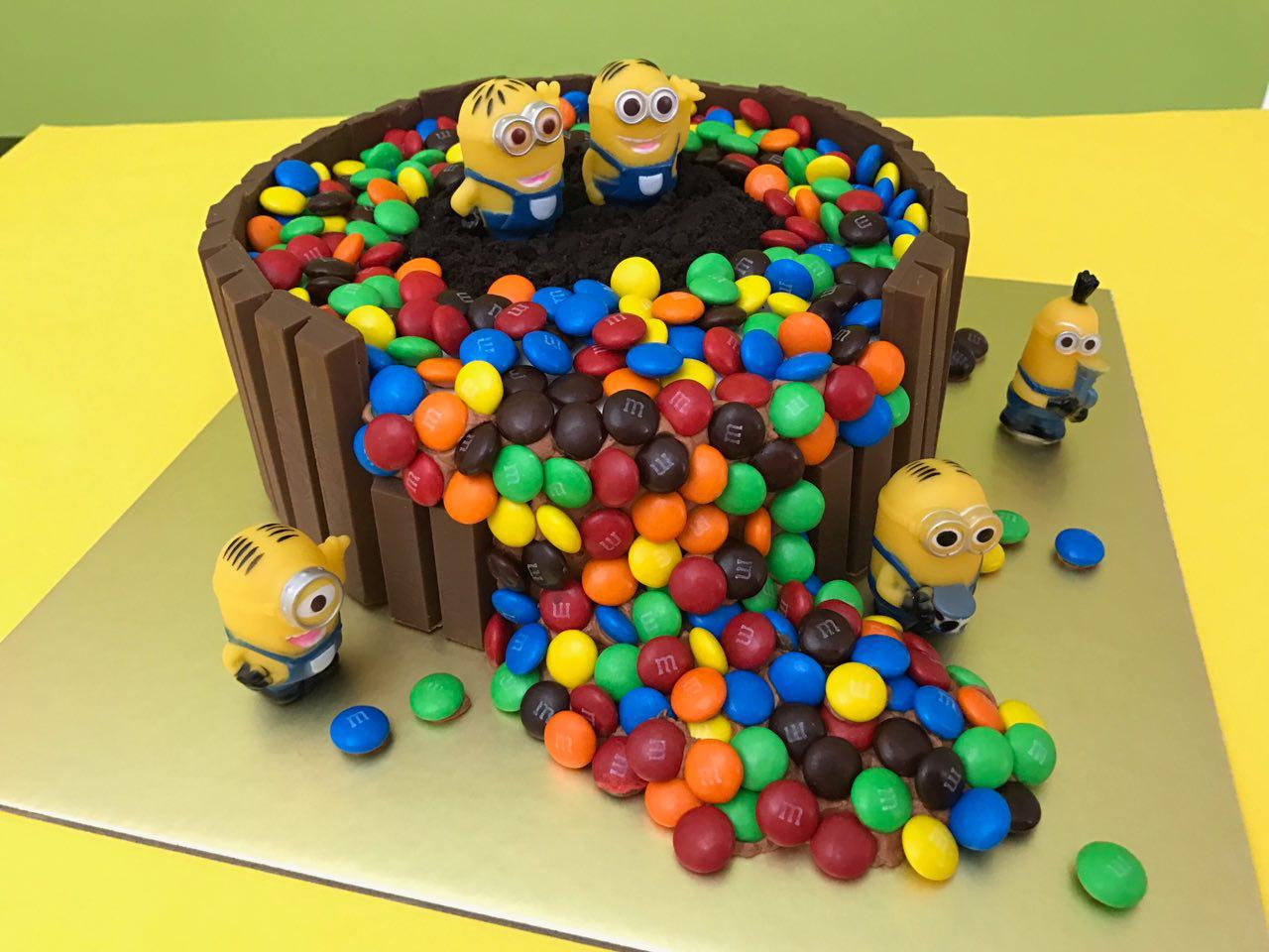Minion Kit Kat M&M
