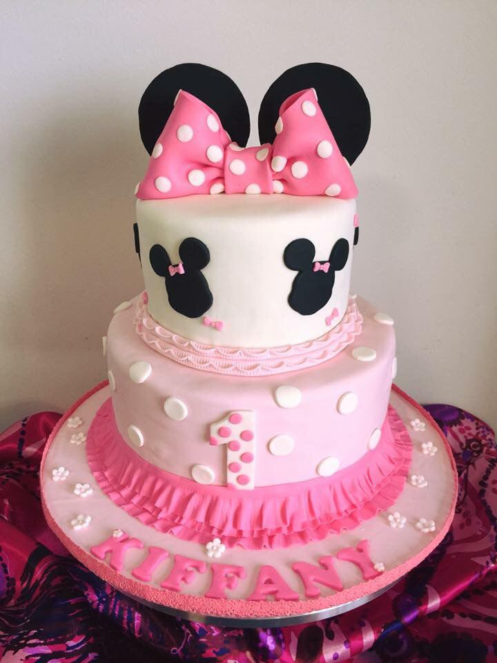 Minnie Mouse Cake 2-Tier