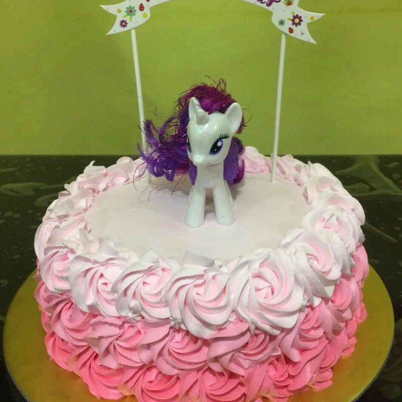 My Little Pony Ombre Rosette