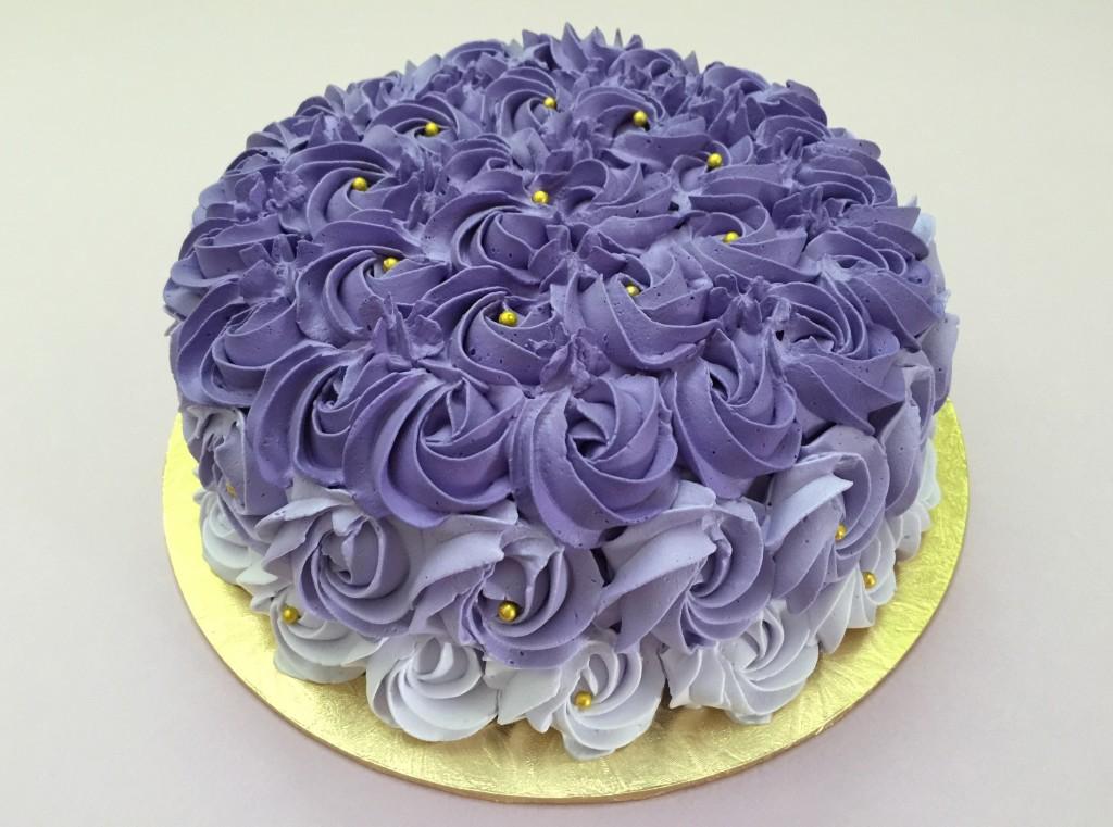 Yam Birthday Cake