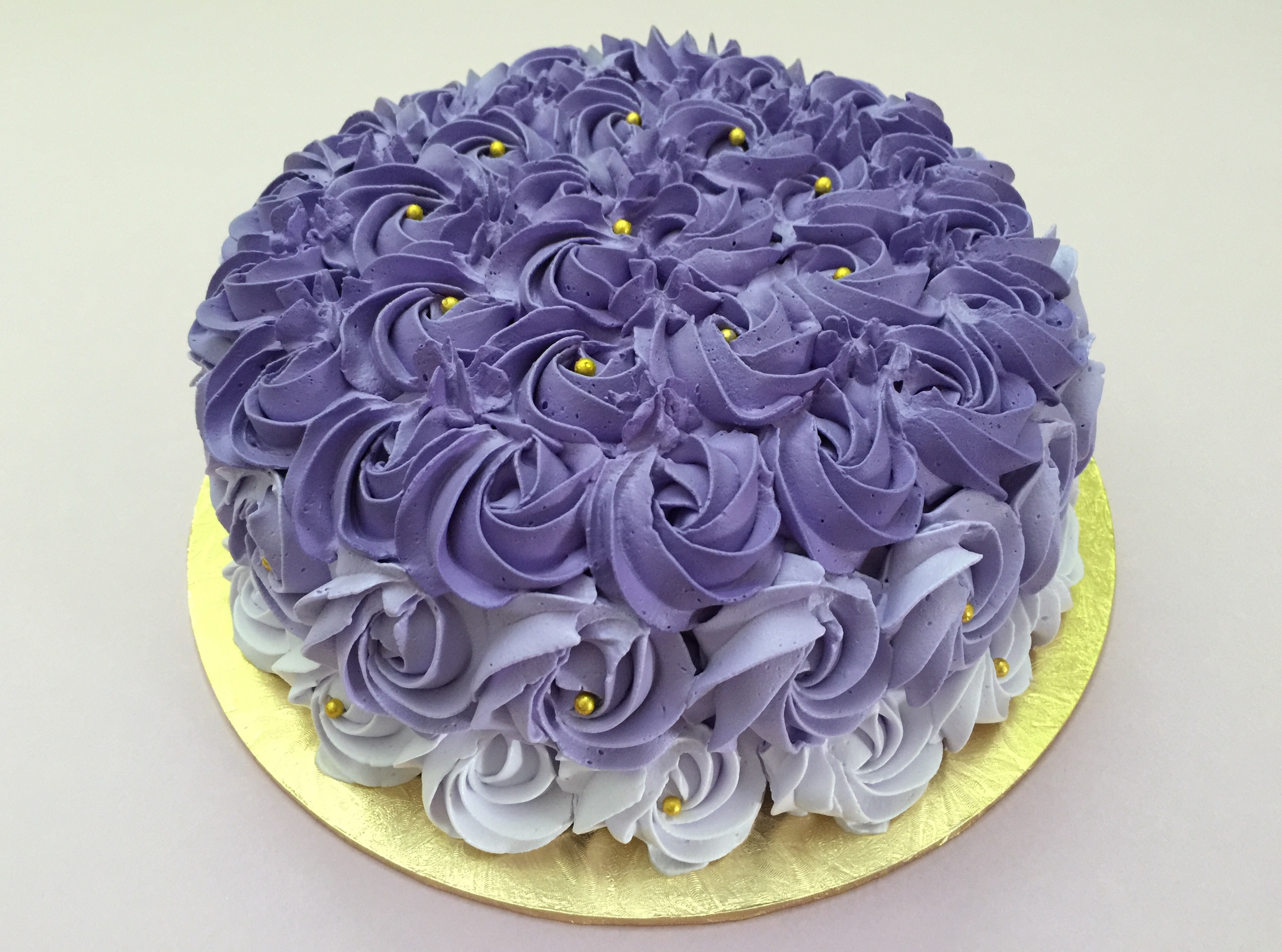 Ombre Purple Rosette 2