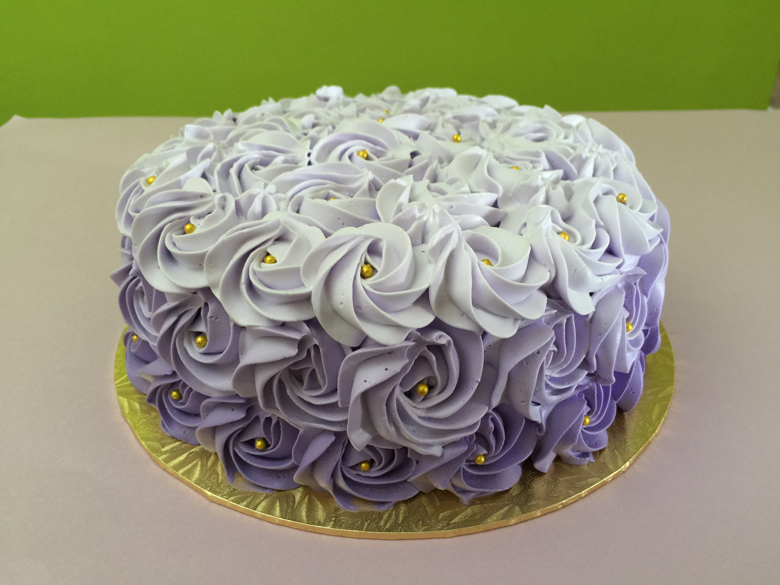 Ombre Purple Rosette 1