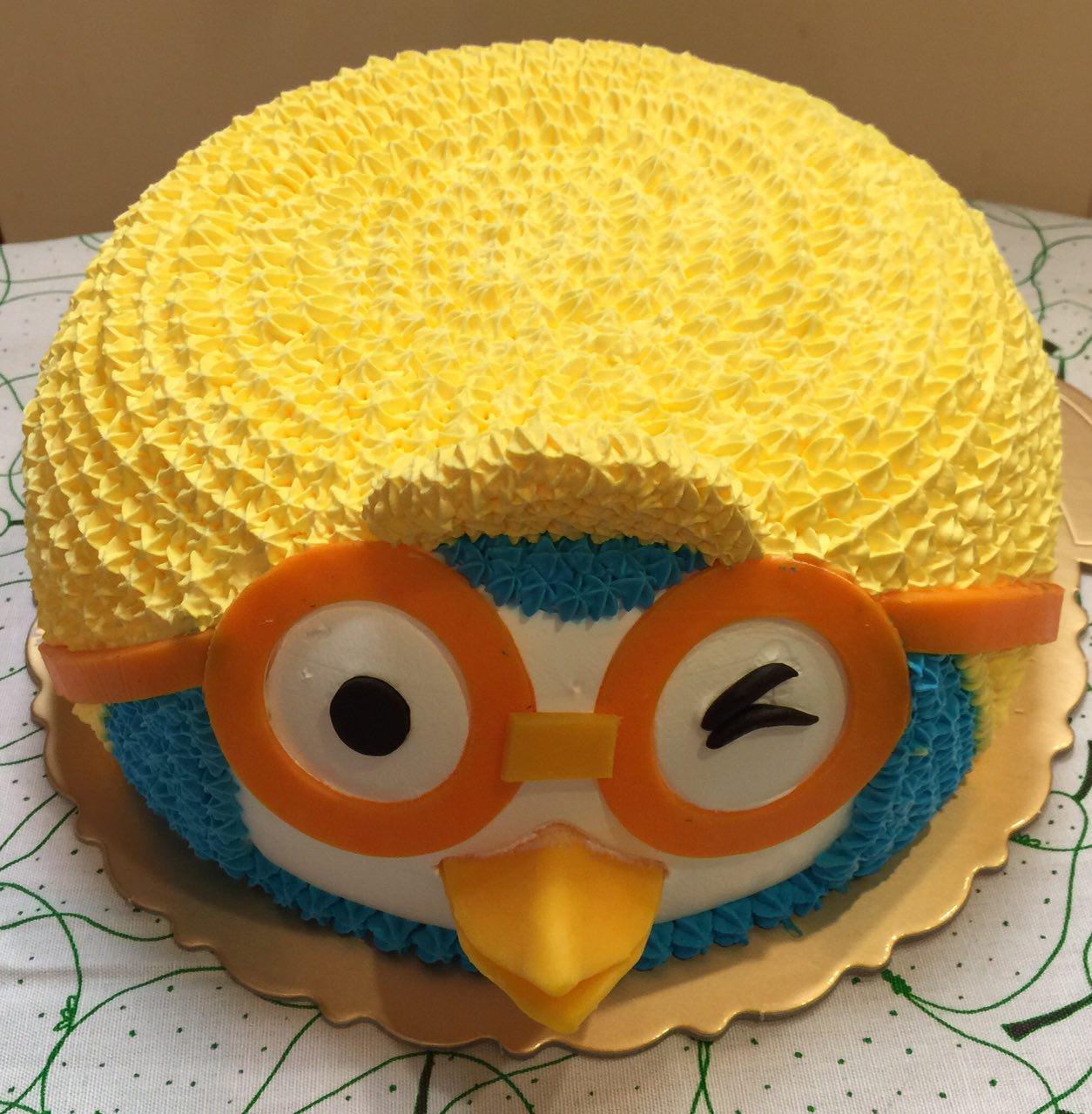 Pororo 3D Cake