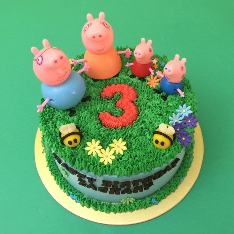 Peppa Garden with Number