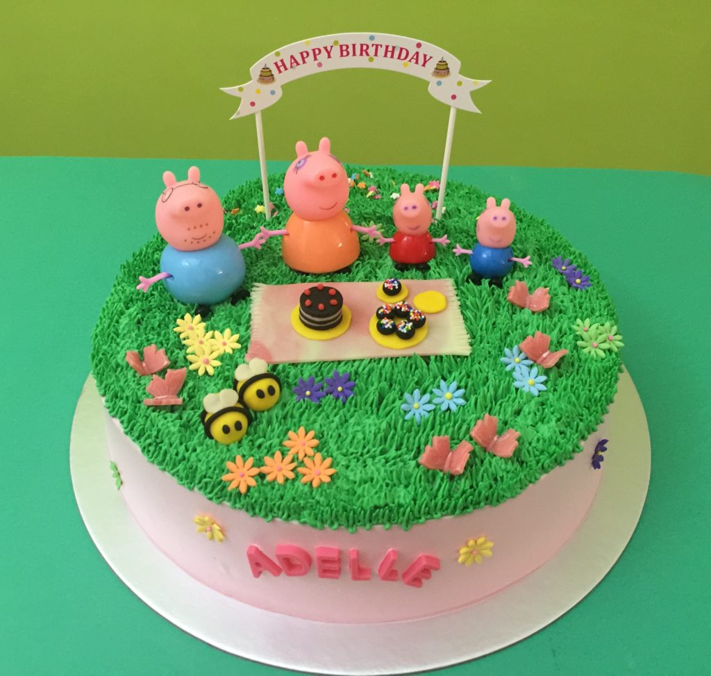Pictures Of Peppa Pig Birthday Cakes