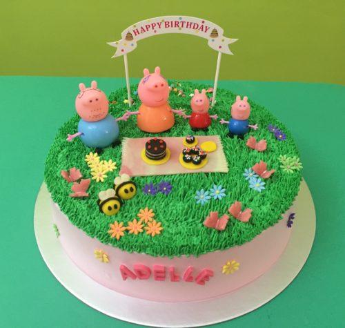 Peppa Pig Picnic Garden