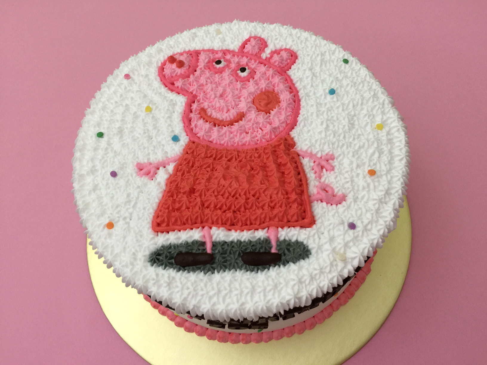 Peppa Pig Birthday Cake Singapore Peppa Pig Cake