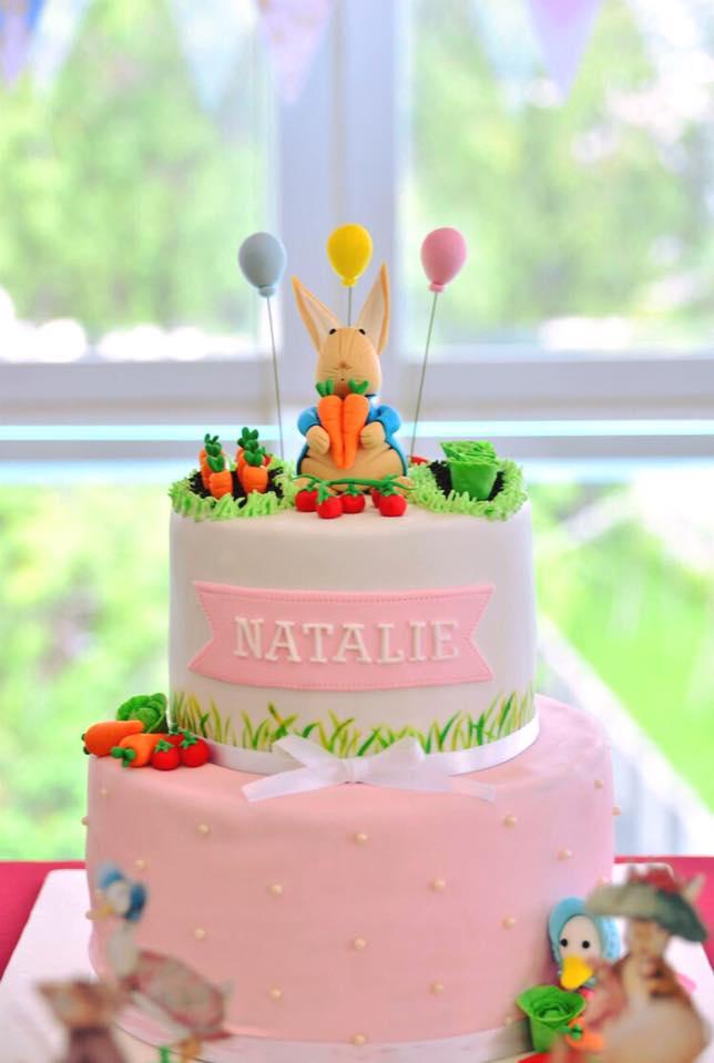 Peter Rabbit 2 tier cake