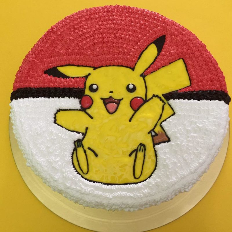 Pokemon Ice Cream Cake Singapore