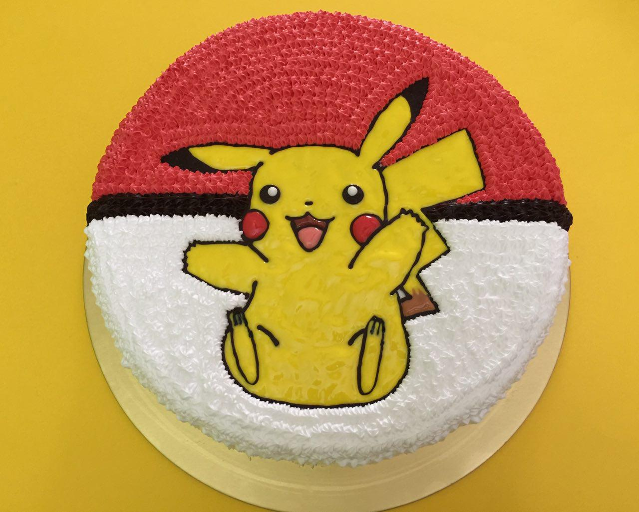 Pikachu Bounce on Pokeball