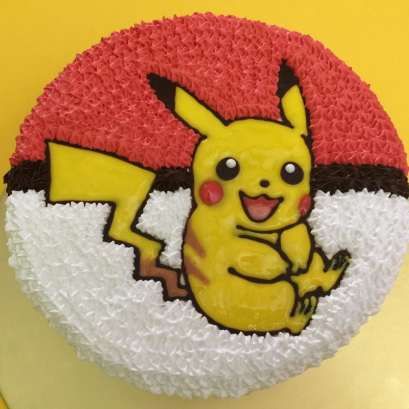 Pikachu Shy on Pokeball