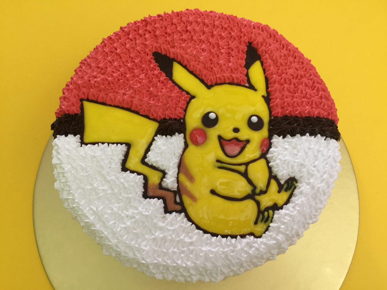 Pikachu Shy on Pokeball