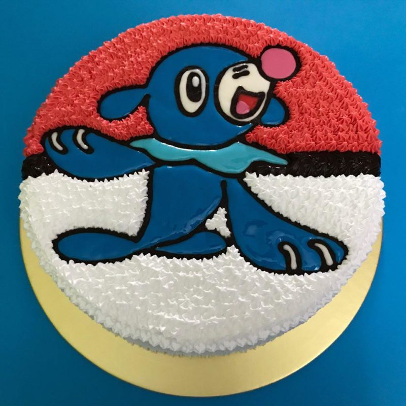 Poppilo on Pokeball