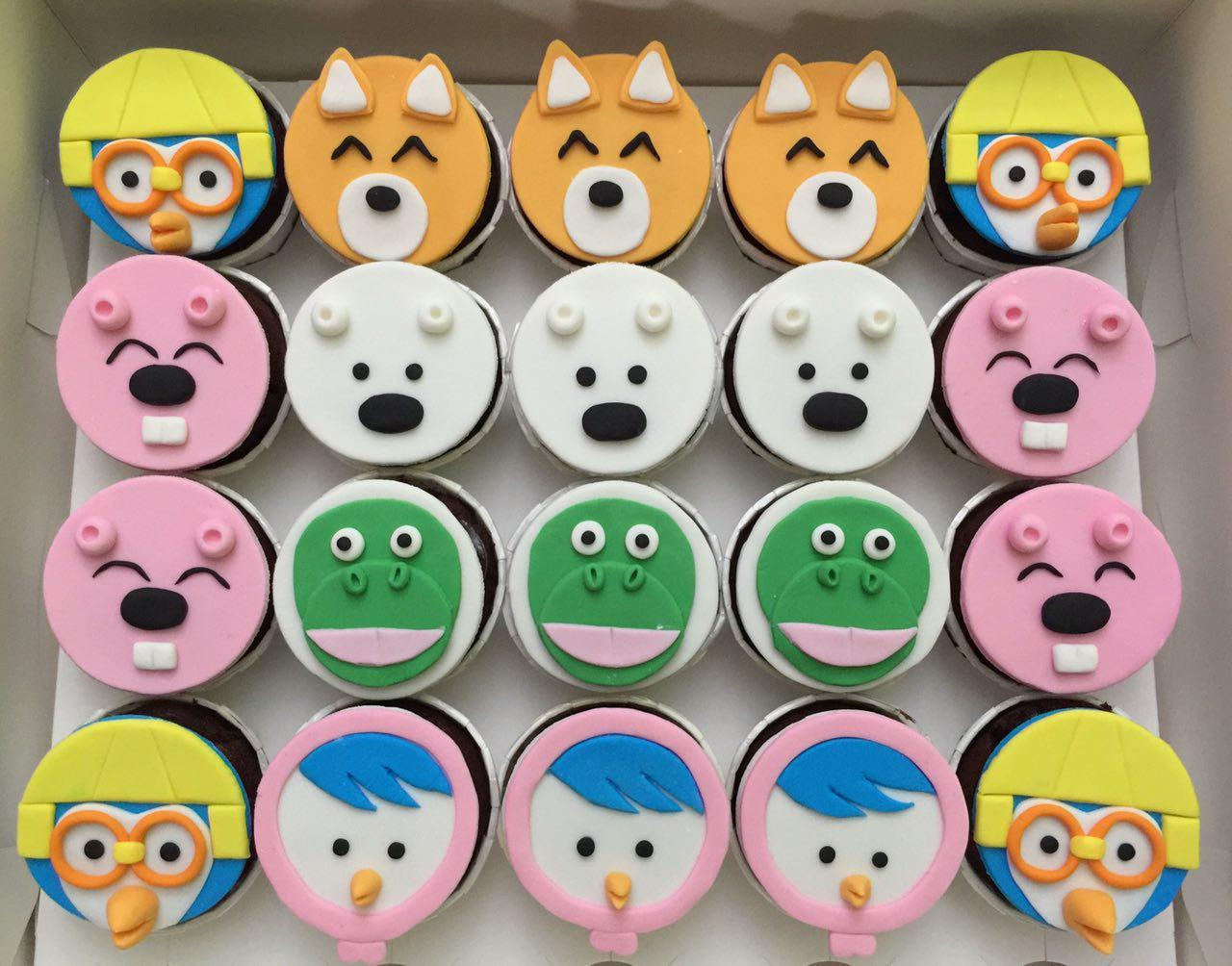 Pororo Cupcakes
