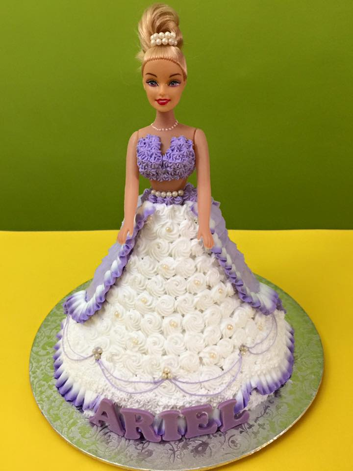 Princess_Barbie Cake