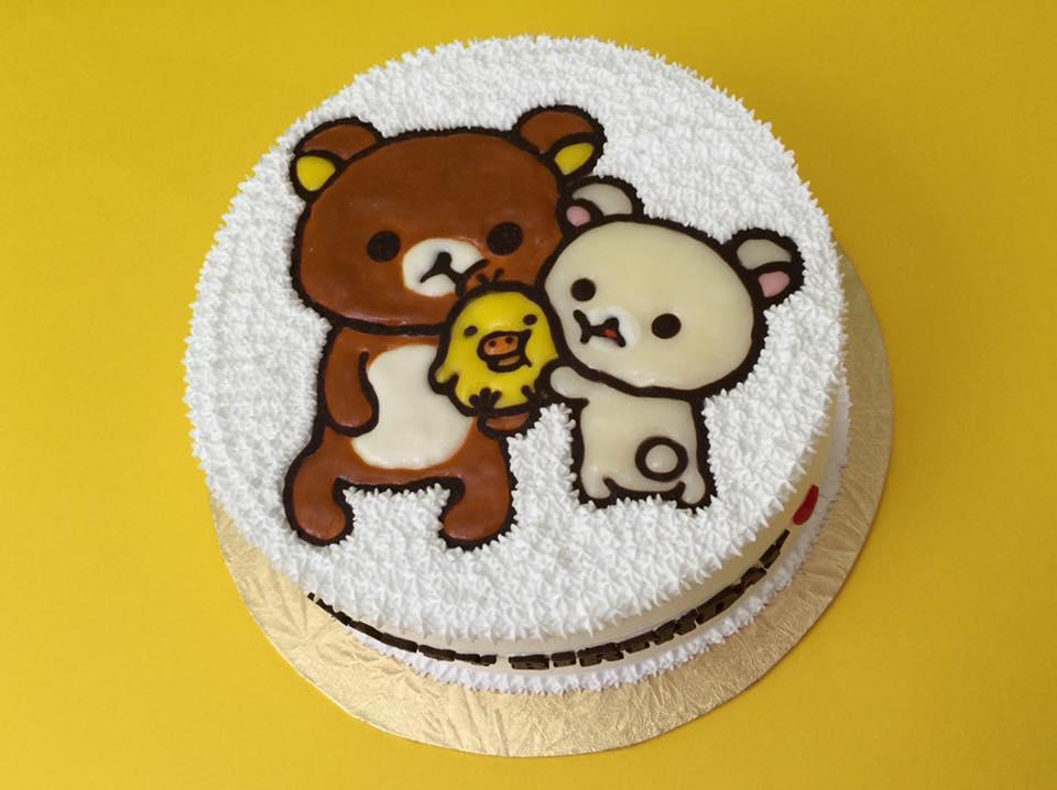 Rilakkuma Hugging Cake
