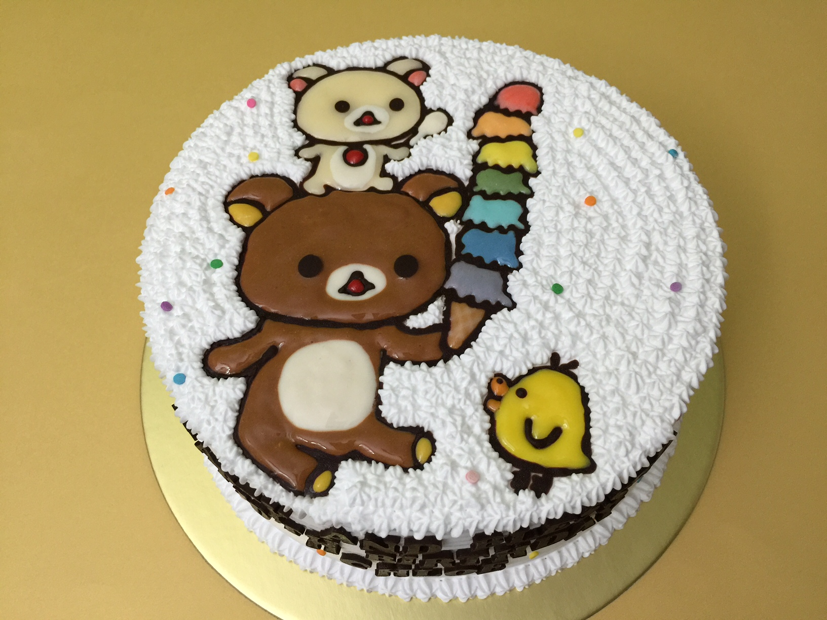 Rilakkuma Rainbow Ice-cream
