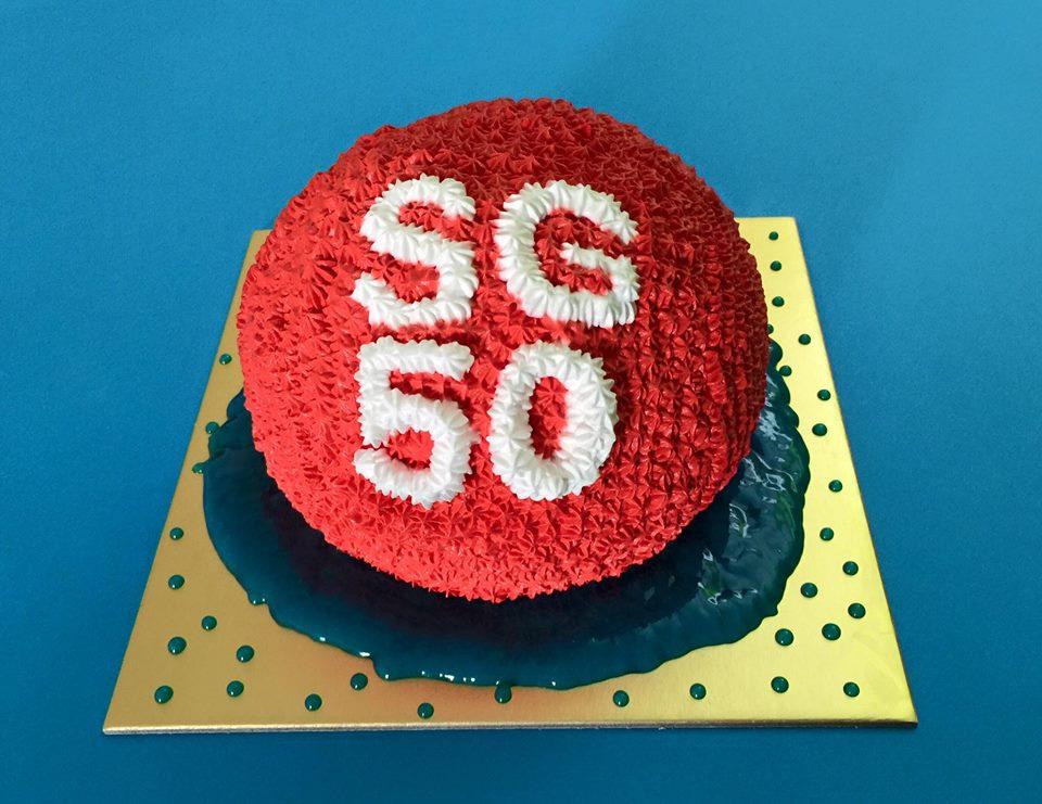 SG50 Red Dot