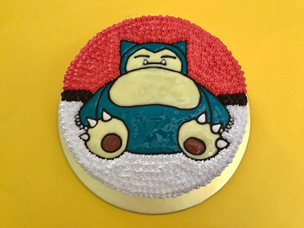 Snorlax Birthday Cake Singapore