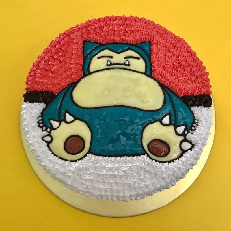 Snorlax on Pokeball