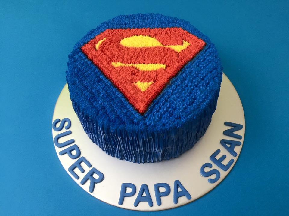 Superman Cake 1