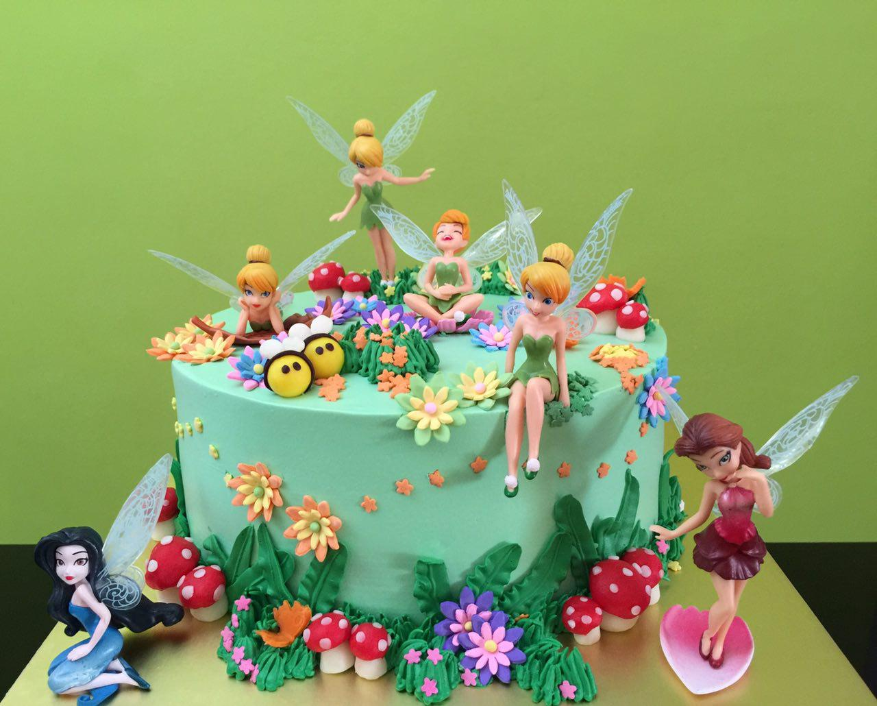 Tinkerbell Garden Fresh Cream
